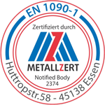 Zertifikat Metallzert