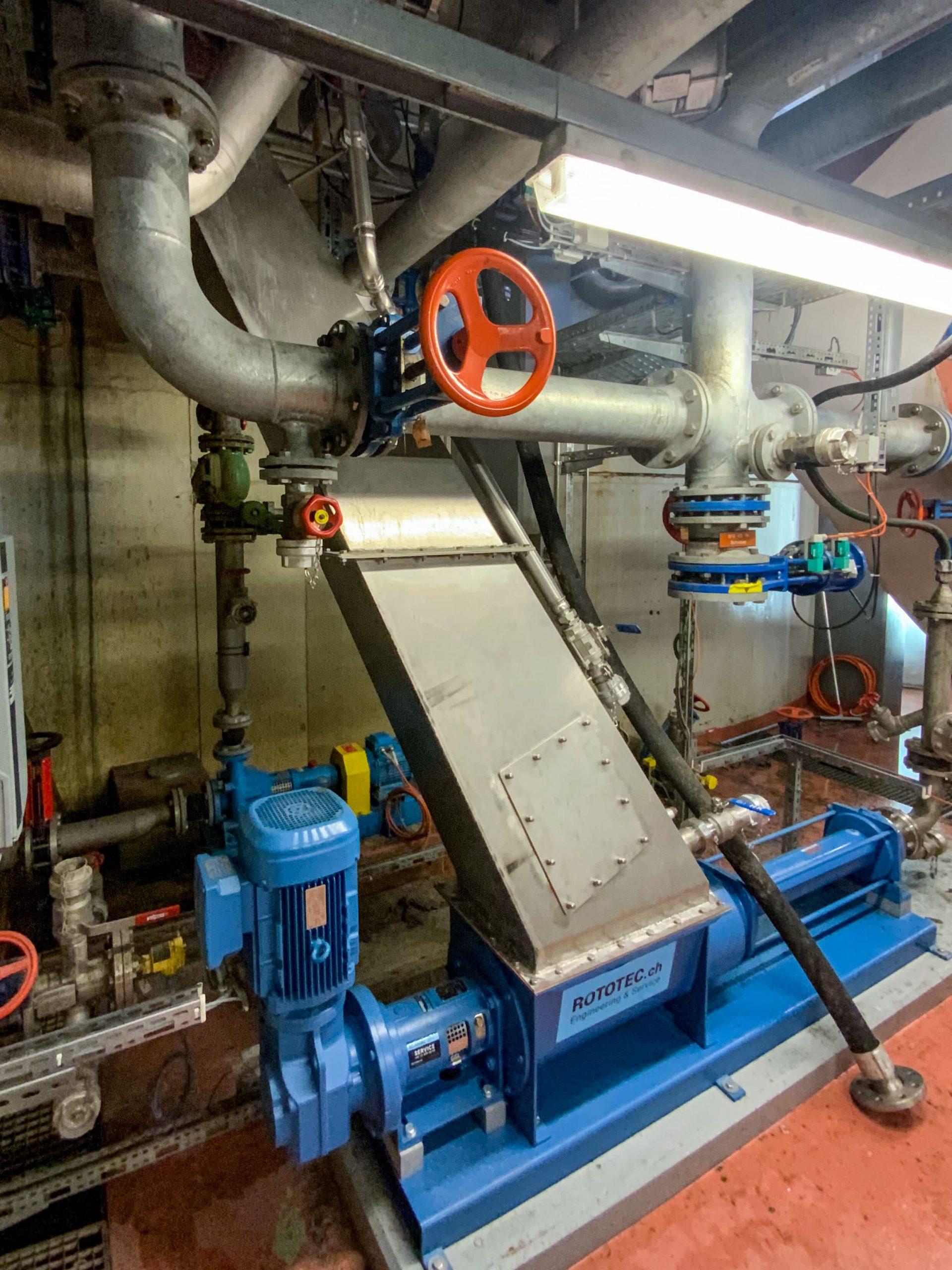 Industrie Basel – Schlammtrichter