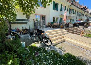 Stahlbau Basel – Terrassenanbau