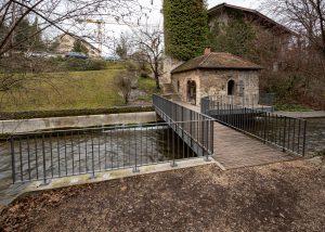 Stahlbau Basel – Fussgängerbrücke