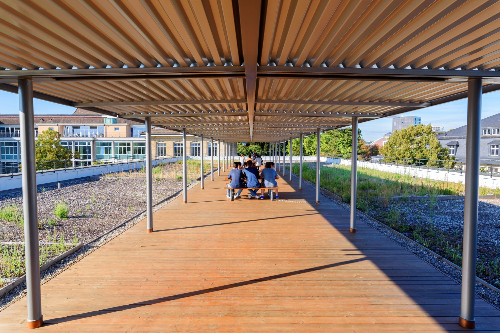 Stahlbau Basel – Pergola