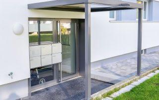 Stahlbau Basel – Vordach