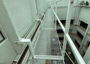 Stahlbau Basel – Wartungssteg