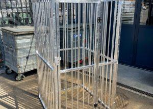Spezialkonstruktionen Basel – Gitterverschlag